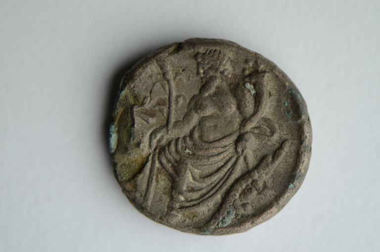 Coin; Billon Tetradrachm card