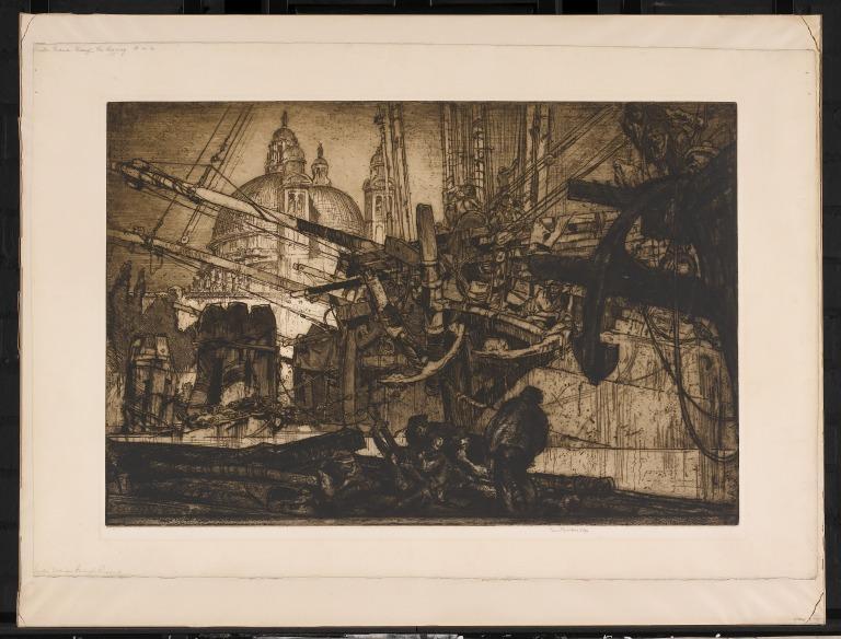 Santa Maria della Salute, 1908 card