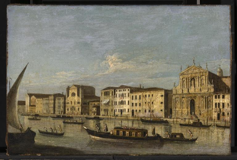 View on the Grand Canal card