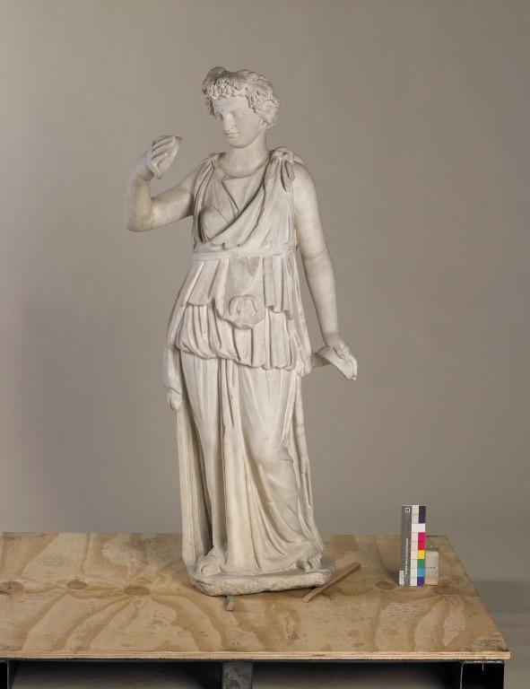 Statue of a Maenad or Muse card