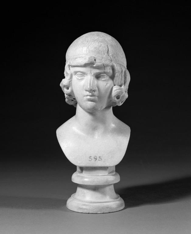 Bust of a Boy card