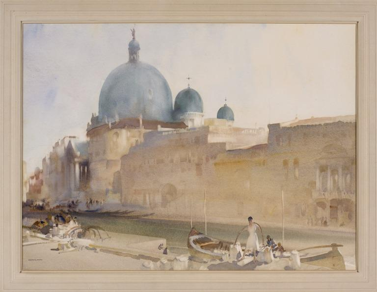 The Three Green Domes, San Simeone Piccolo card