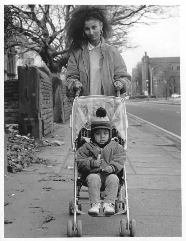 Mother and Child, Princes Road card