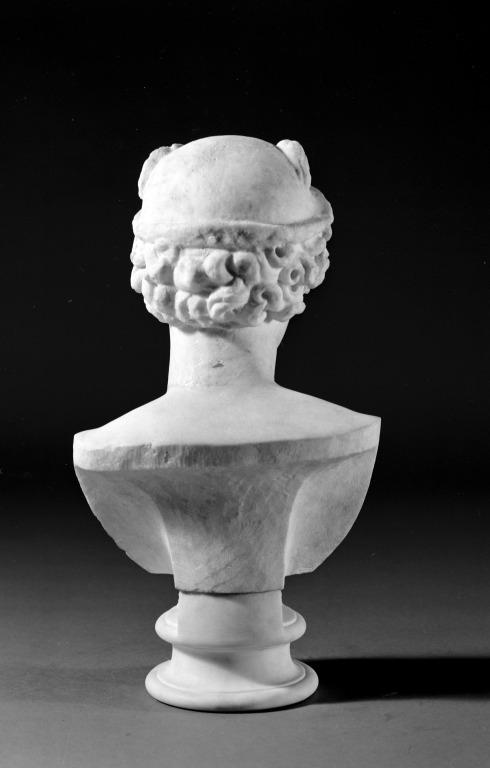 Bust of Hermes card