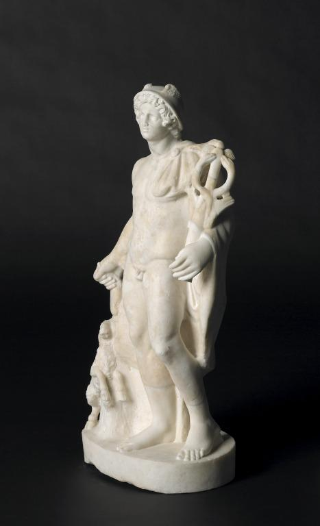 Statuette of Hermes card