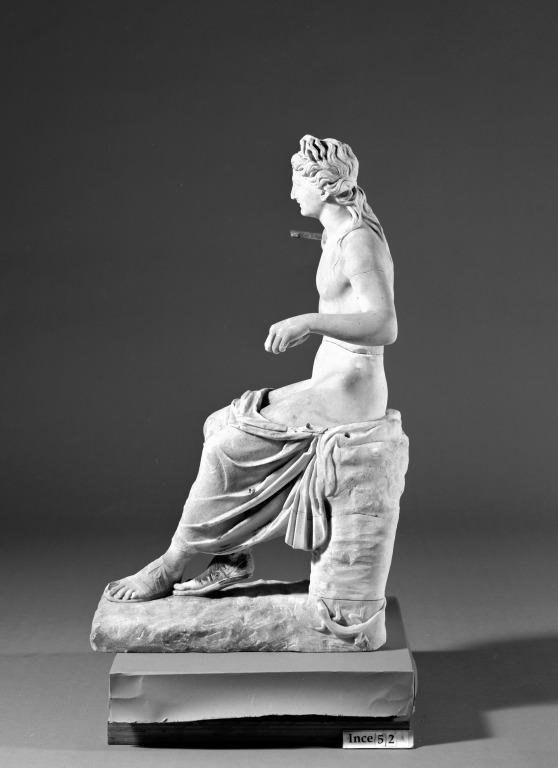 Statuette of Apollo card