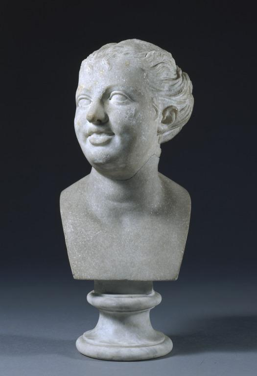 Bust of Nymph card