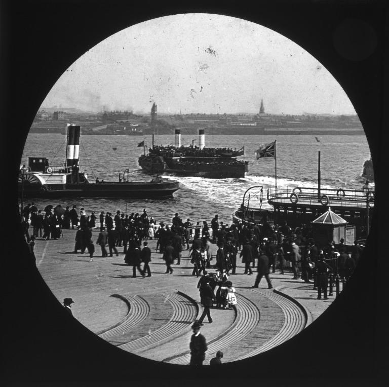 Liverpool Landing Stage card