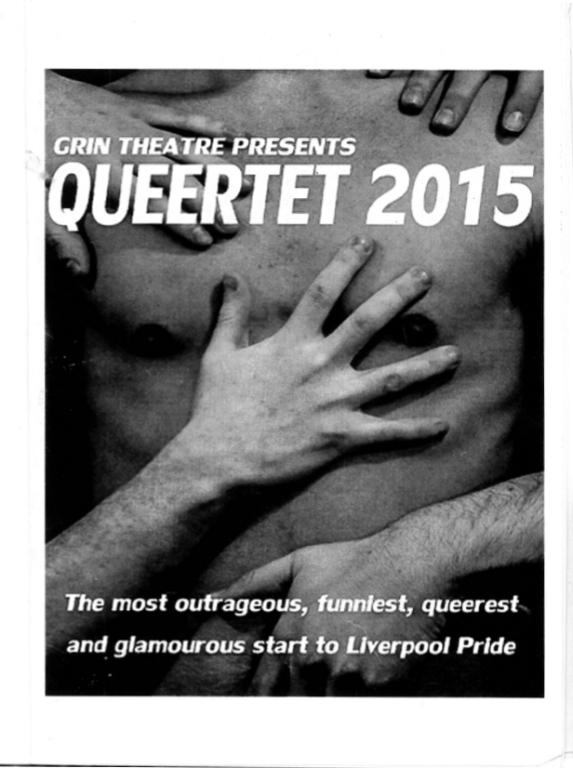 Programme, 'Queertet 2015' card