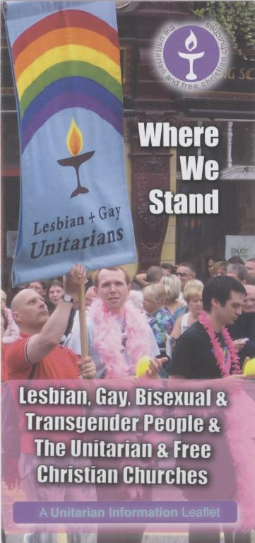 Leaflet, 'Where We Stand' card