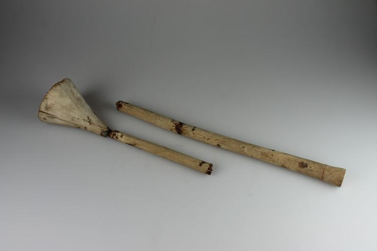 Wooden Staff or Sceptre card