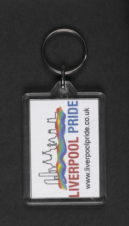 Key Ring, 'Bear Pride' card