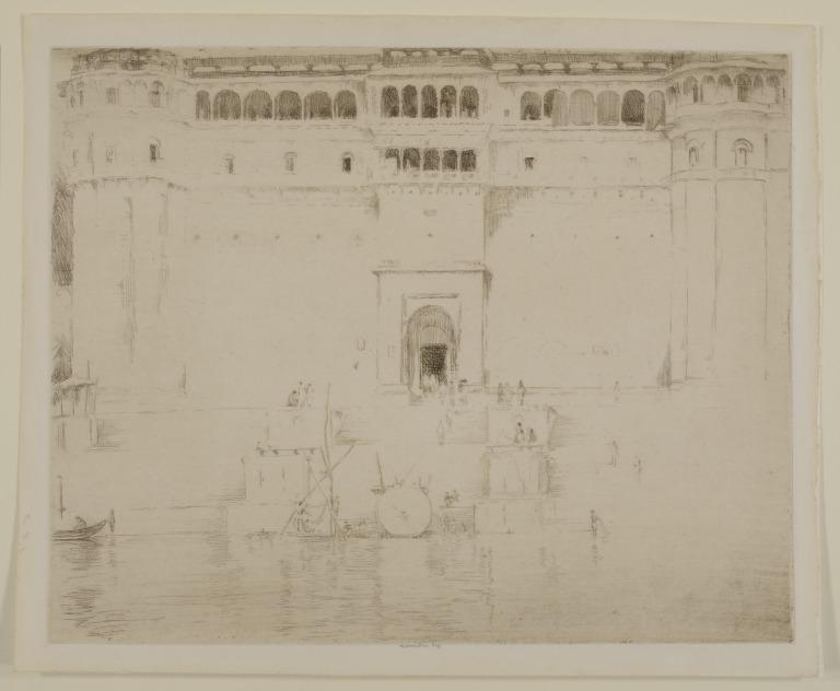 The River Palace, Evening card
