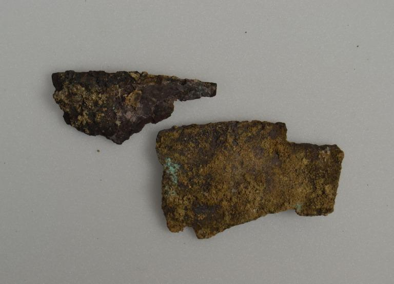 Fragments from a bowl card