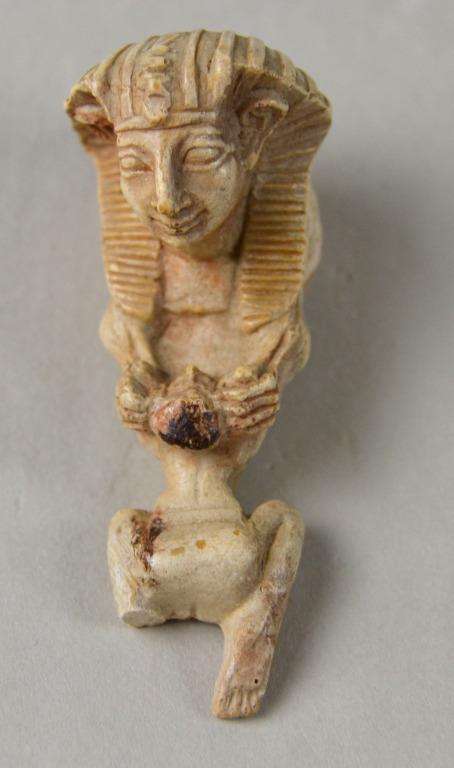 Figure of a King (facsimile) card