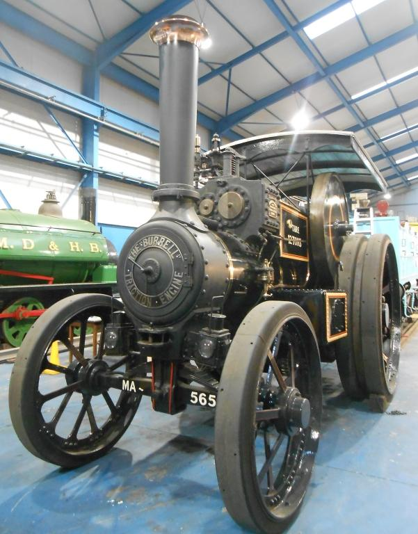 Burrell Traction Engine card