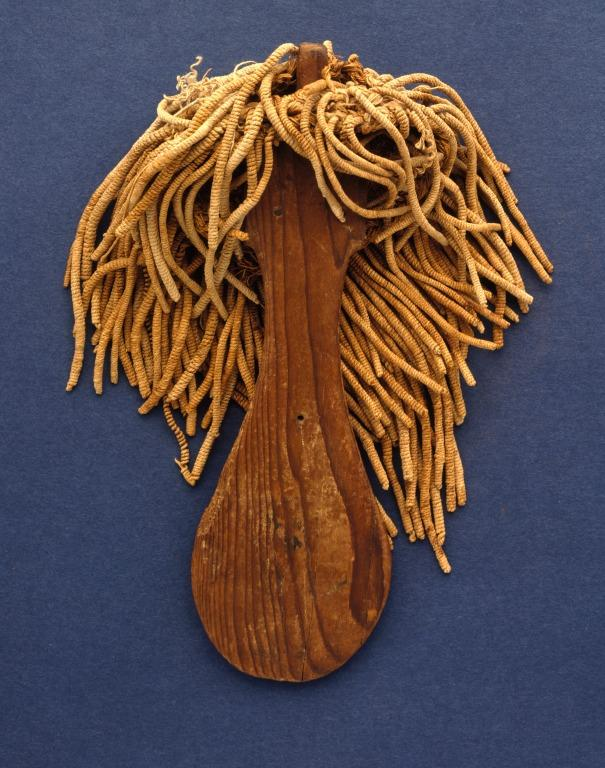 Religious Object ('Paddle Doll') card