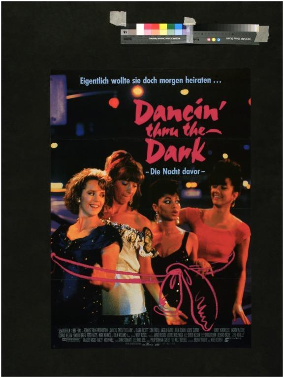 Dancin' thru the Dark card