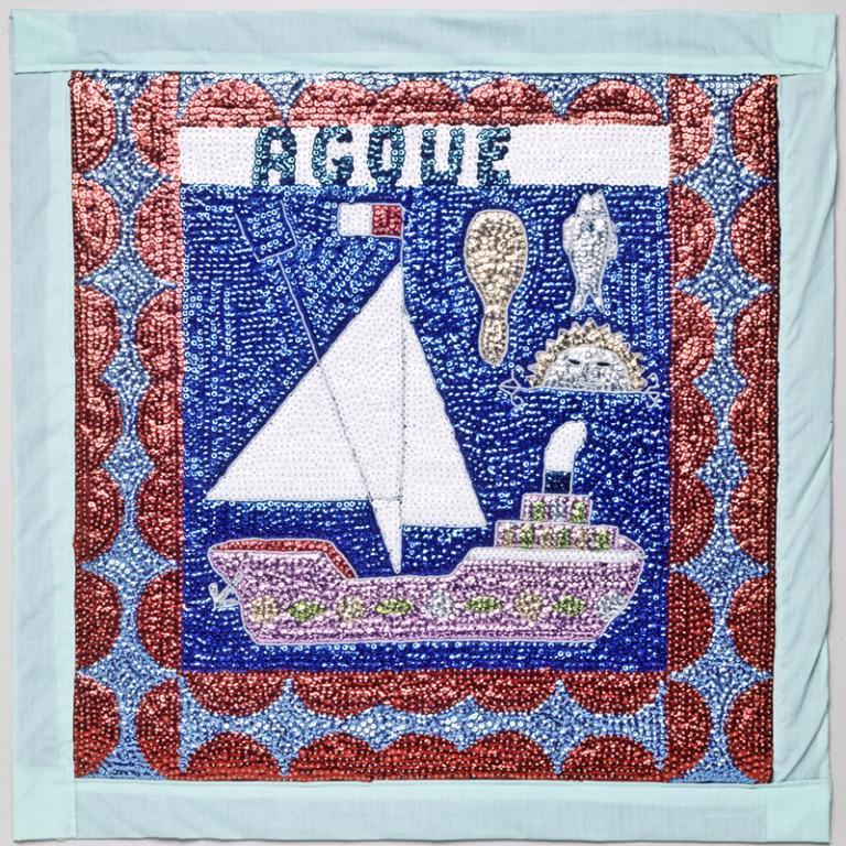 Vodou Flag (Drapo) card