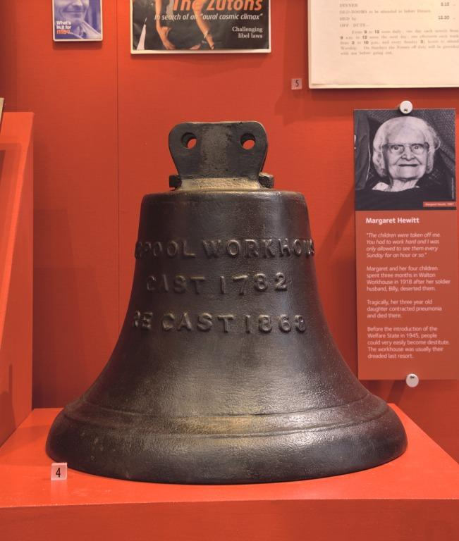 Workhouse bell card
