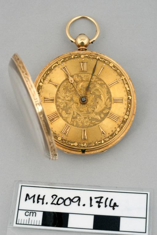 Pocket watch owned by Captain William Turner card
