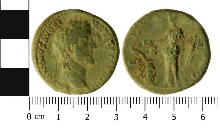 Coin; Sestertius card