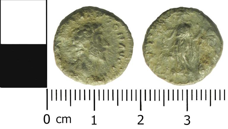 Coin; Denarius card