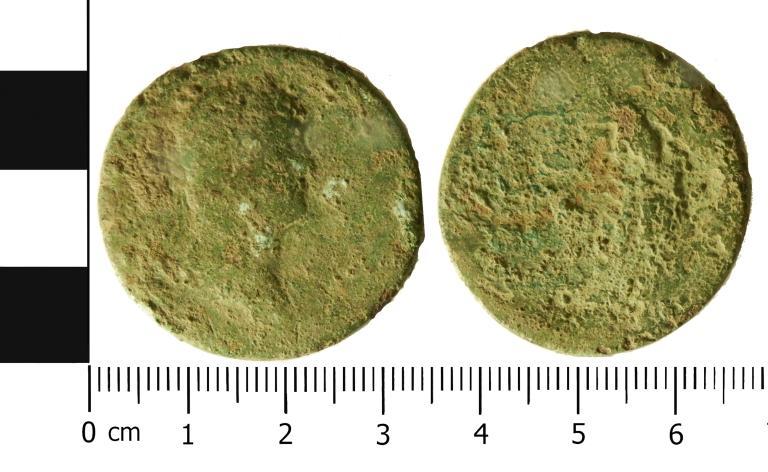 Coin; Sestertius card