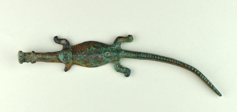 Crocodile Figure card