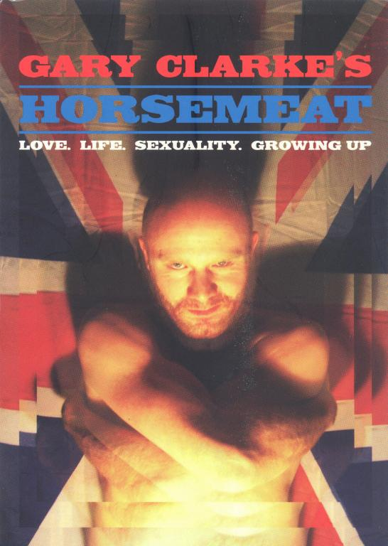 Flyer, 'Horsemeat: Love. Life. Sexuality. Growing Up' card