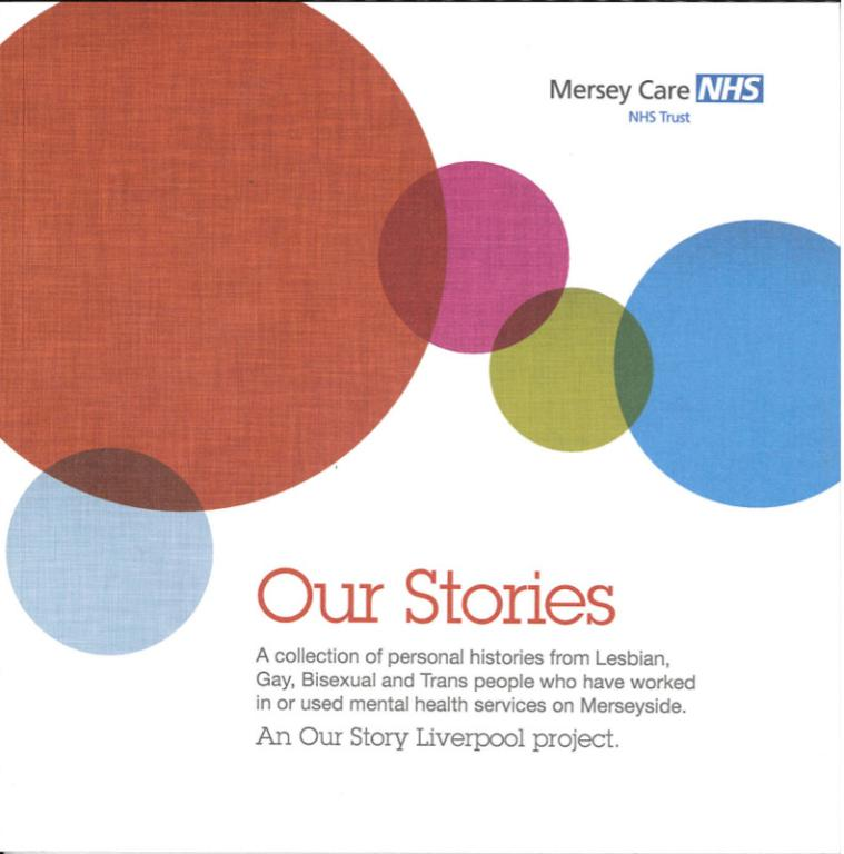 Booklet, 'Our Stories' card