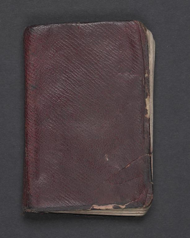 Pilot TH Webster's notebook card