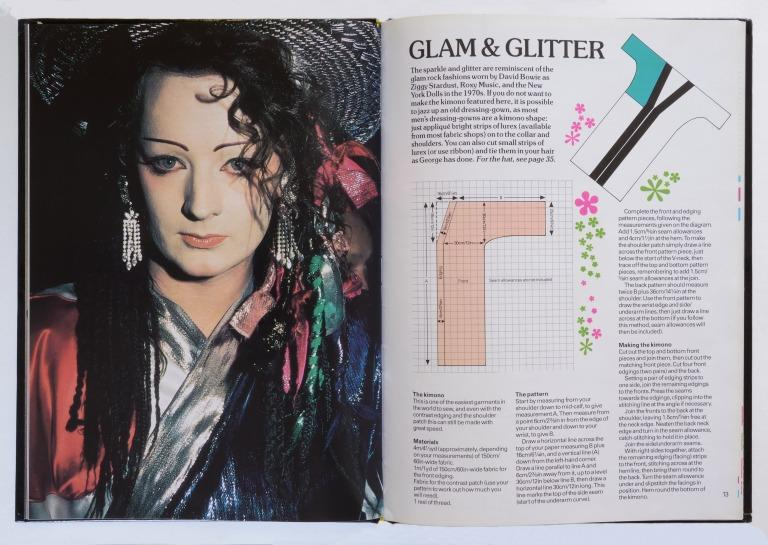 Boy George Fashion and Make Up Book card