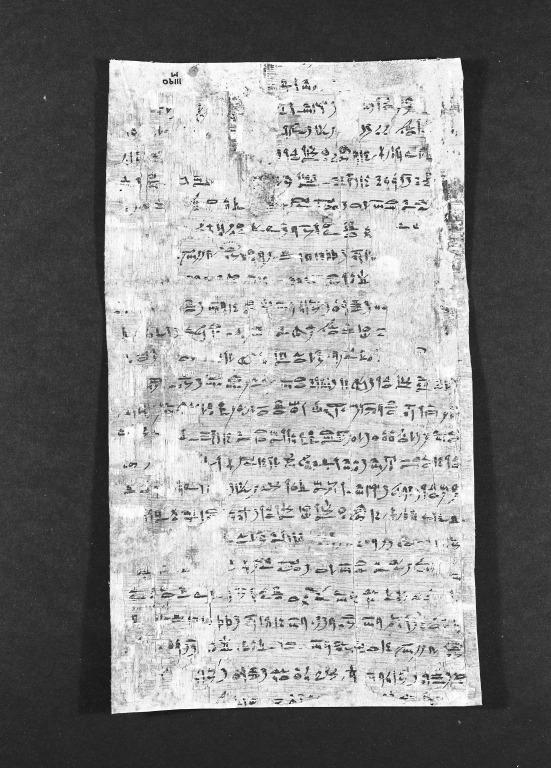 Lamentations of Isis and Nephthys (Papyrus Mayer M) card