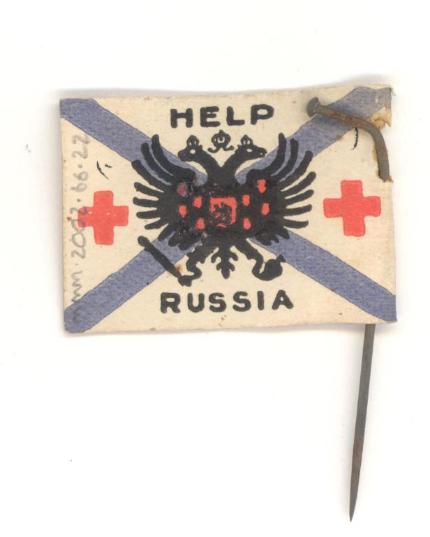 Help Russia flag card