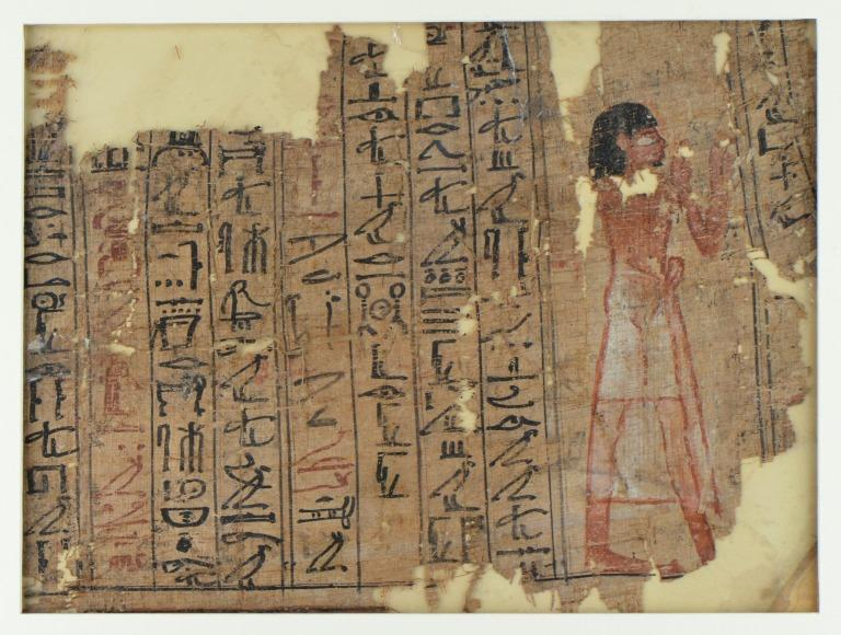 Book of the Dead (Papyrus Mayer I) card