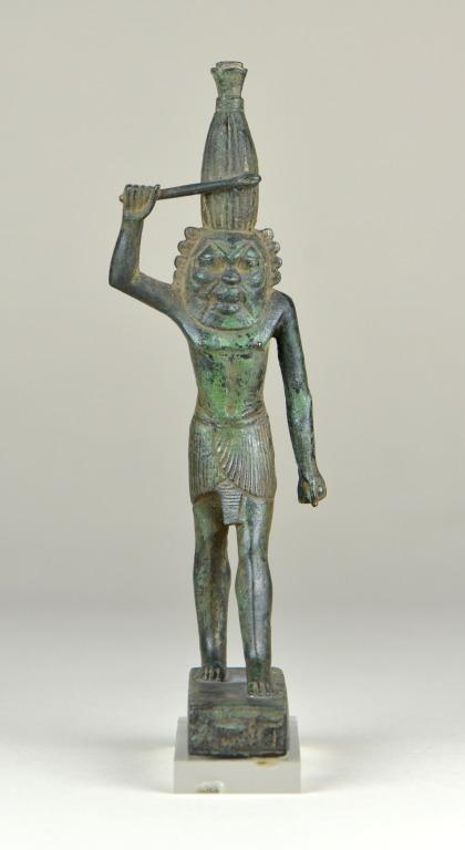 Statuette of Amun card