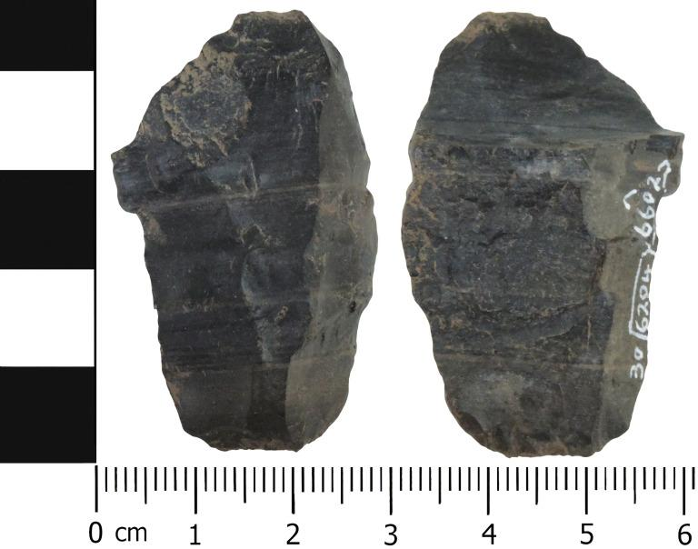 Lithic core card