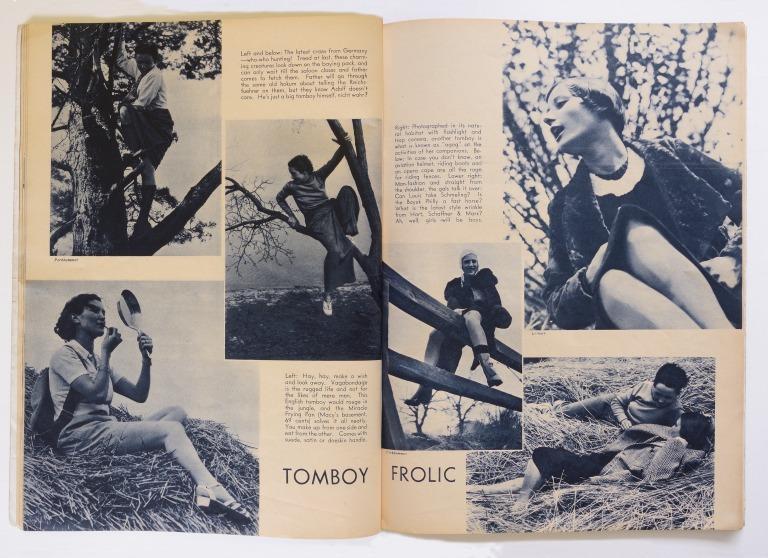 Fun Outdoors Pictorial, Autumn, 1937,  Vol. 1, No. 1 card