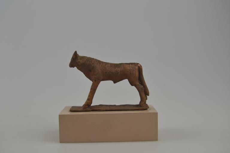 Statuette of the Apis Bull card