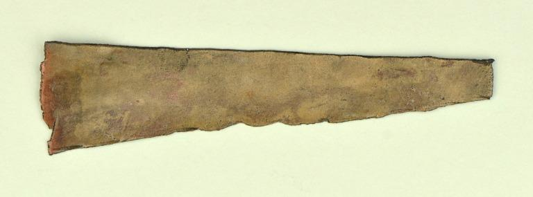 Model of a Chisel or Adze card