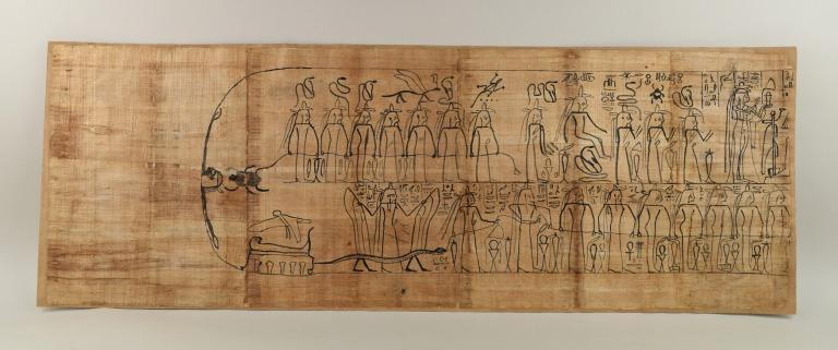 Amduat Papyrus inscribed for Djed-iset-iw-s-ankh card