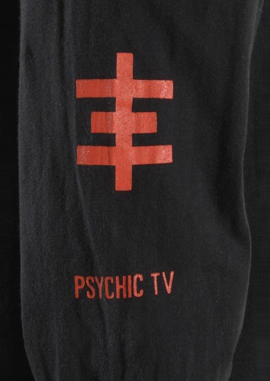 Psychic TV T-shirt card