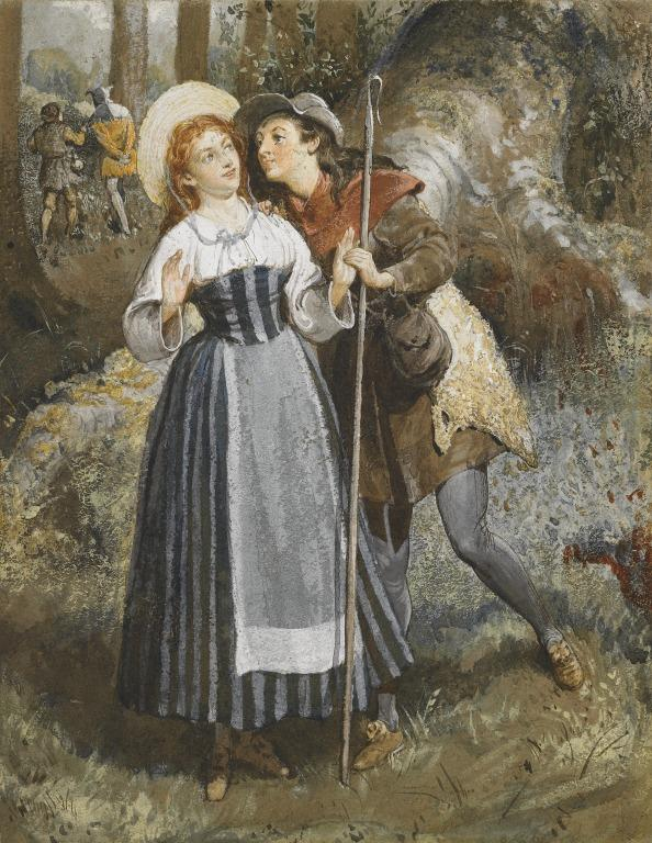 Rosalind and Celia card