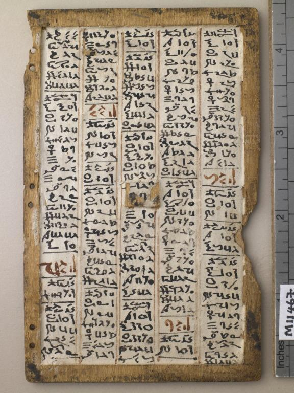 Astronomical Text ('Stobart Tablets') card