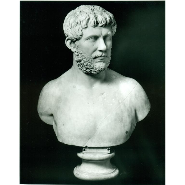 Male Bust card