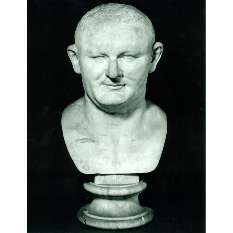 Head of Vespasian card