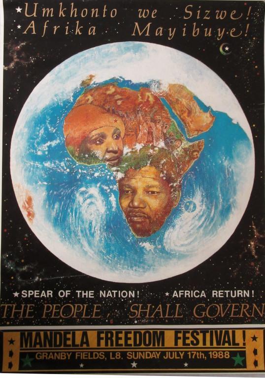 Mandela Freedom Festival! card