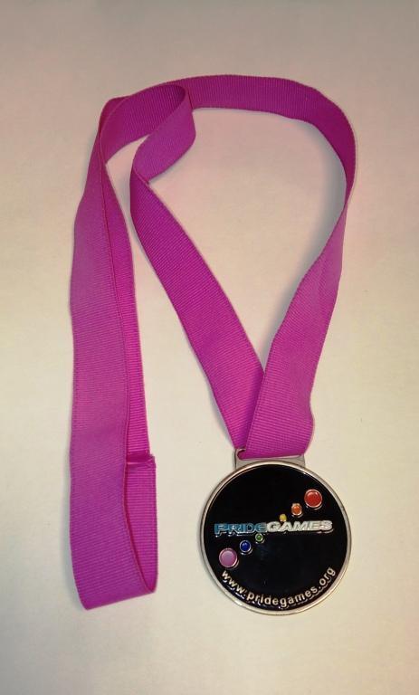 Medal, 'Pride Games' card