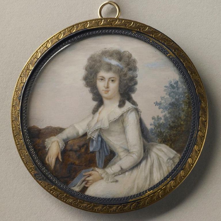Duchesse De Polignac card